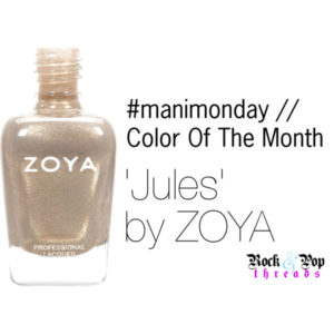 #manimonday // Color Of The Month // Jules